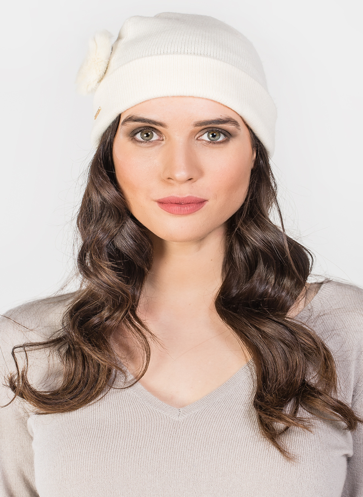 Silk And Cashmere Bere A181c330002 Ayala Hat With Fur 17wkyl-17 – 265.0 TL